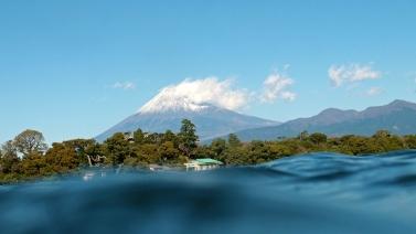 大瀬崎富士山