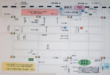 沼津駅南口マップ