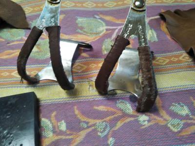 トークリップの革巻き補修