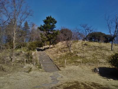 徒歩で行く三ッ池公園