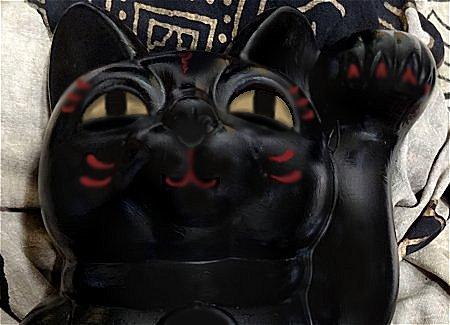 招き猫の塗替え 最終