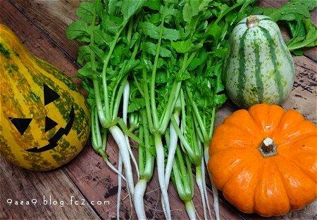 ハロウィン かぼちゃ 野菜