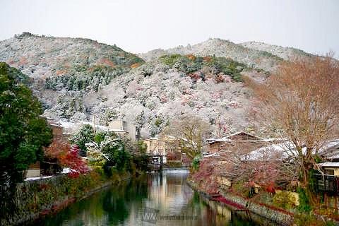 2020 12 17 嵐山の雪景色