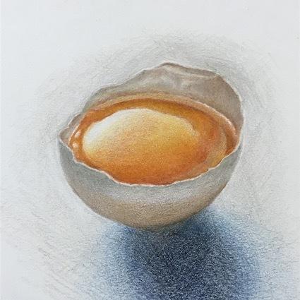200305色鉛筆画