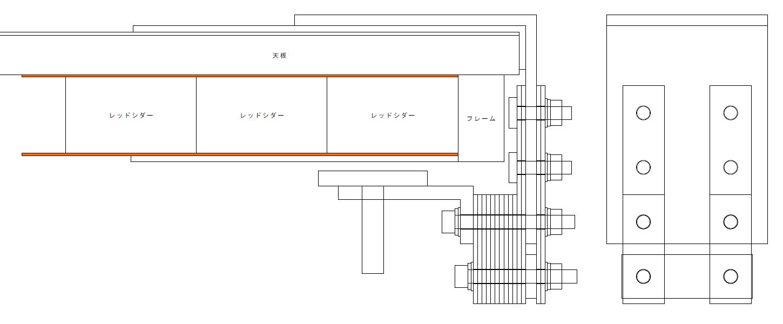 エルゴトロン LX モニターアームのクランプをフレーム付きワークテーブルに固定した時のメモ、エルゴトロン LX モニターアームクランプ - ワークテーブル固定用部品・工具リスト、光 エラストマーゴム板 EG2-71 当て木・補強プレート用すべり止め用に 2枚