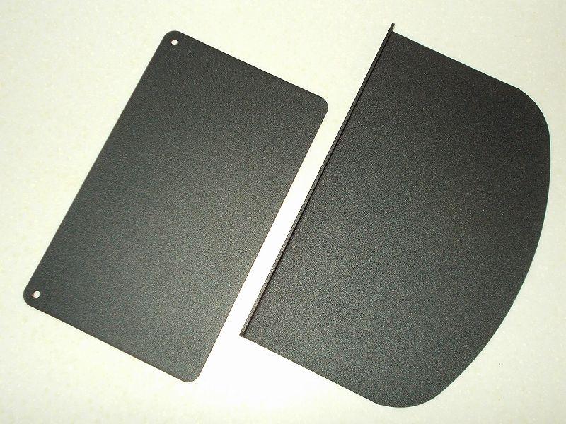 エルゴトロン LX モニターアームのクランプをフレーム付きワークテーブルに固定した時のメモ、エルゴトロン LX モニターアームクランプ - ワークテーブル固定用部品・工具リスト、HUANUO モニターアーム補強プレート開封