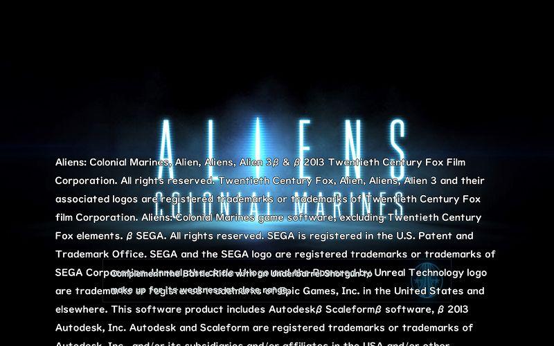 PC ゲーム Aliens: Colonial Marines Collection で日本語を表示する方法、Aliens: Colonial Marines - ビットマップ日本語フォント追加方法(Startup_INT.upk へバイナリデータ追加・書き換え)、Startup_INT.upk ビットマップフォント - UD デジタル教科書体 NK-B フォント - ロード画面スクリーンショット
