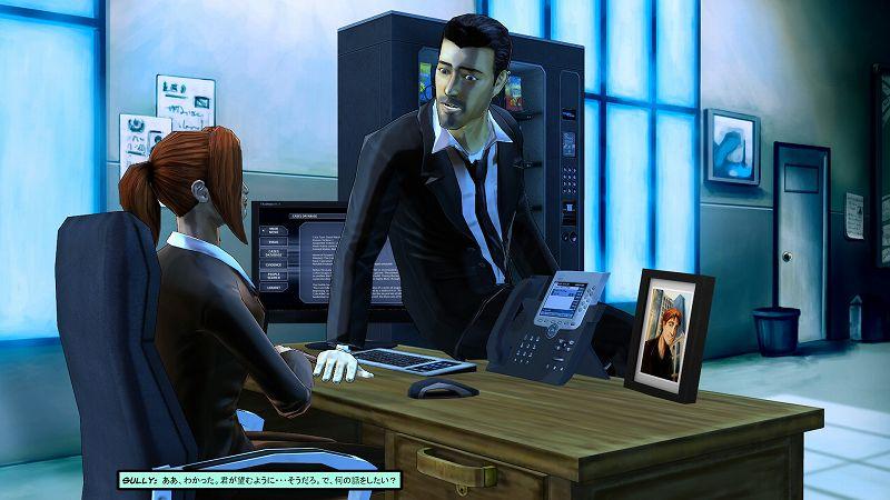 PC ゲーム Cognition: An Erica Reed Thriller 日本語化メモ、PC ゲーム Cognition: An Erica Reed Thriller 日本語化手順、Cognition: An Erica Reed Thriller 日本語化 Mod インストール方法、Cognition: An Erica Reed Thriller - UnityEX 対応版 2021年6月22日版(ja0555-UnityEX-20210622.7z)日本語化ファイルインストール後の Cognition Episode 2: The Wise Monkey スクリーンショット