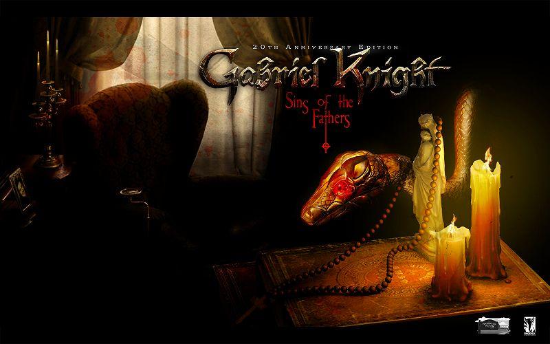 PC ゲーム Gabriel Knight: Sins of the Fathers 20th Anniversary Edition 日本語化メモ