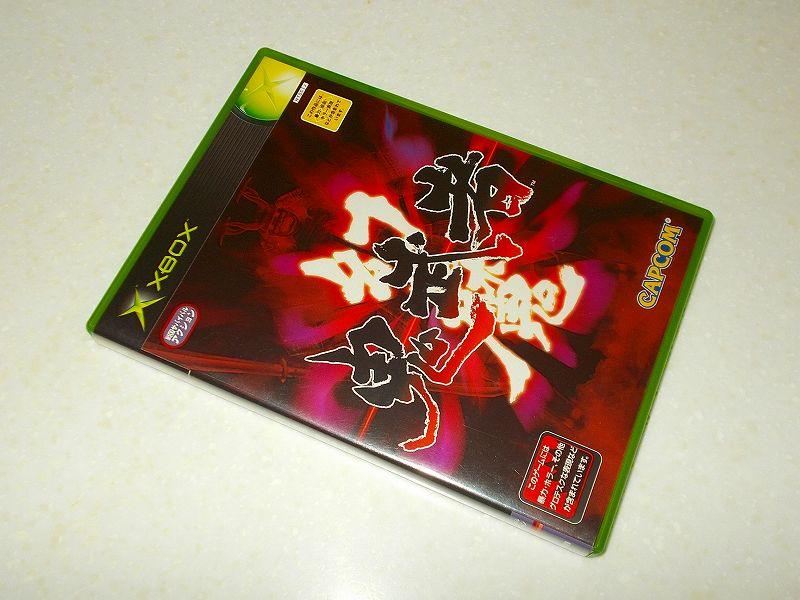 東芝サムスン製 DVD ドライブ TS-H352D の SH-D162D 化メモ、DVD ドライブ SH-D162D と Xbox Backup Creator で Xbox(初代)ディスクダンプ結果、幻魔鬼武者(Xbox) パッケージ