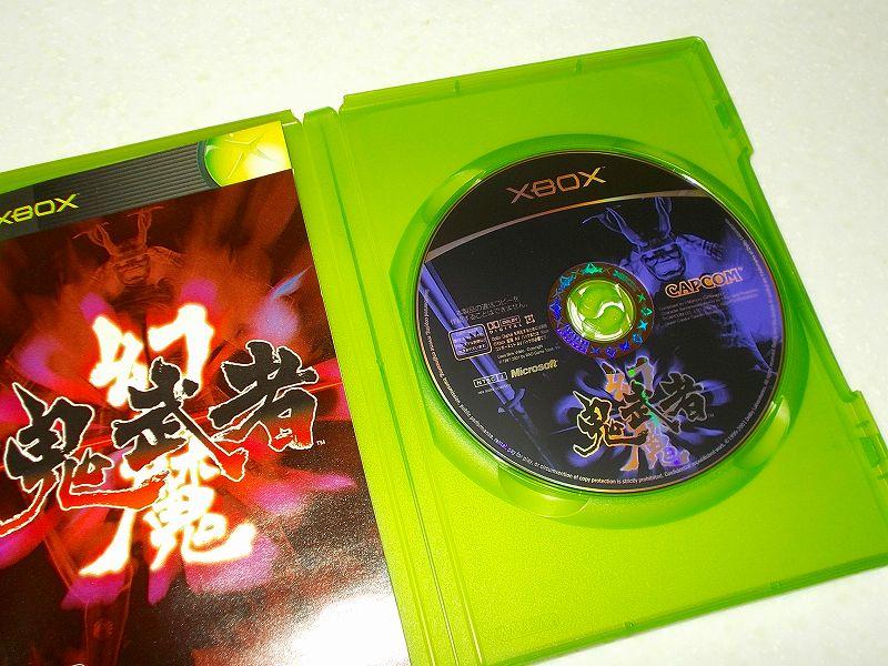 東芝サムスン製 DVD ドライブ TS-H352D の SH-D162D 化メモ、DVD ドライブ SH-D162D と Xbox Backup Creator で Xbox(初代)ディスクダンプ結果、幻魔鬼武者(Xbox) ディスク