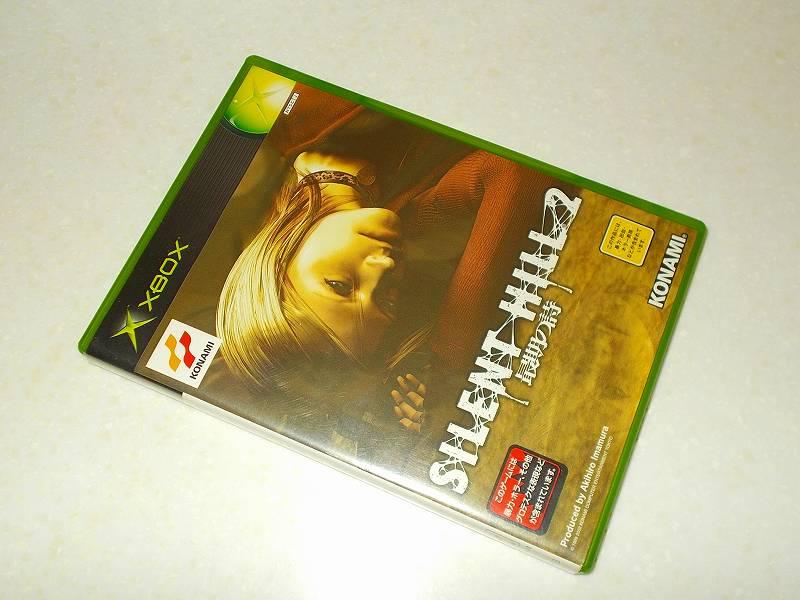 東芝サムスン製 DVD ドライブ TS-H352D の SH-D162D 化メモ、DVD ドライブ SH-D162D と Xbox Backup Creator で Xbox(初代)ディスクダンプ結果、サイレントヒル 2 最期の詩(Xbox 360) パッケージ