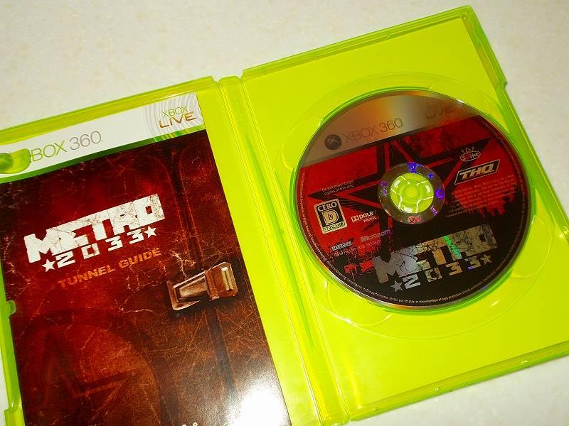 東芝サムスン製 DVD ドライブ TS-H352D の SH-D162D 化メモ、DVD ドライブ SH-D162D と Xbox Backup Creator で Xbox 360(XGD2)ディスクダンプ結果、メトロ 2033(Xbox 360) ディスク