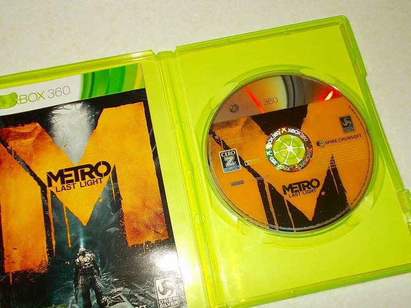 東芝サムスン製 DVD ドライブ TS-H352D の SH-D162D 化メモ、DVD ドライブ SH-D162D と Xbox Backup Creator で Xbox 360(XGD3)ディスクダンプ結果、メトロ ラストライト(Xbox 360) ディスク