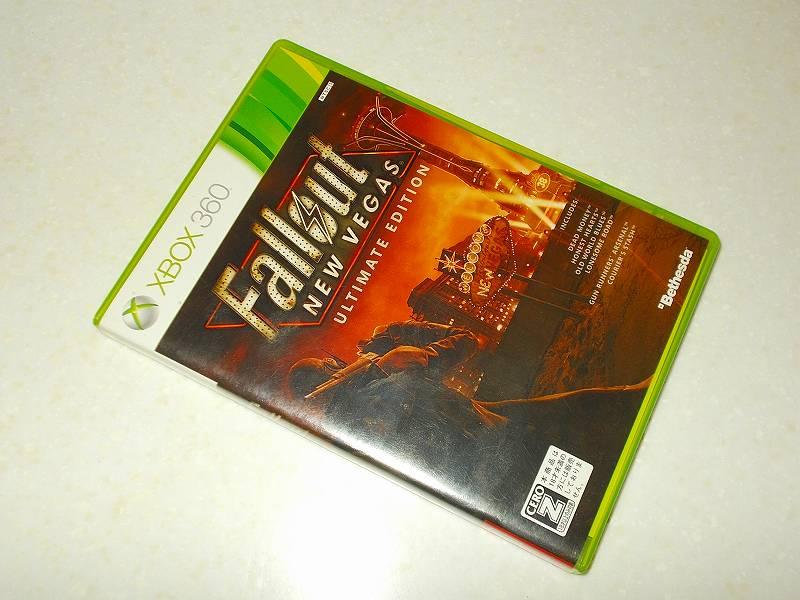 東芝サムスン製 DVD ドライブ TS-H352D の SH-D162D 化メモ、DVD ドライブ SH-D162D と Xbox Backup Creator で Xbox 360(XGD2)ディスクダンプ結果、Fallout: New Vegas Ultimate Edition(Xbox 360) パッケージ