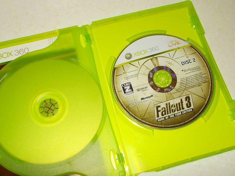 東芝サムスン製 DVD ドライブ TS-H352D の SH-D162D 化メモ、DVD ドライブ SH-D162D と Xbox Backup Creator で Xbox 360(XGD2)ディスクダンプ結果、Fallout 3: Game of the Year Edition(Xbox 360) DISC 2