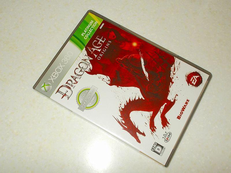 東芝サムスン製 DVD ドライブ TS-H352D の SH-D162D 化メモ、DVD ドライブ SH-D162D と Xbox Backup Creator で Xbox 360(XGD2)ディスクダンプ結果、Dragon Age: Origins プラチナコレクション(Xbox 360) パッケージ