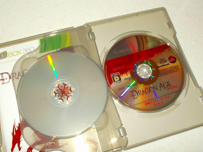 東芝サムスン製 DVD ドライブ TS-H352D の SH-D162D 化メモ、DVD ドライブ SH-D162D と Xbox Backup Creator で Xbox 360(XGD2)ディスクダンプ結果、Dragon Age: Origins プラチナコレクション(Xbox 360) DISC 2