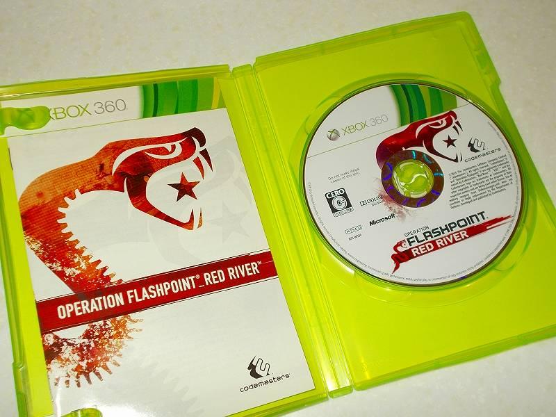東芝サムスン製 DVD ドライブ TS-H352D の SH-D162D 化メモ、DVD ドライブ SH-D162D と Xbox Backup Creator で Xbox 360(XGD2)ディスクダンプ結果、オペレーション フラッシュポイント レッドリバー(Xbox 360) ディスク