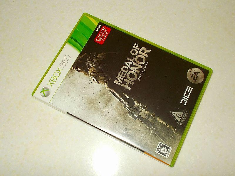 東芝サムスン製 DVD ドライブ TS-H352D の SH-D162D 化メモ、DVD ドライブ SH-D162D と Xbox Backup Creator で Xbox 360(XGD2)ディスクダンプ結果、メダル・オブ・オナー(Xbox 360) パッケージ