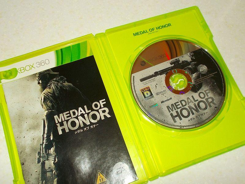 東芝サムスン製 DVD ドライブ TS-H352D の SH-D162D 化メモ、DVD ドライブ SH-D162D と Xbox Backup Creator で Xbox 360(XGD2)ディスクダンプ結果、メダル・オブ・オナー(Xbox 360) ディスク