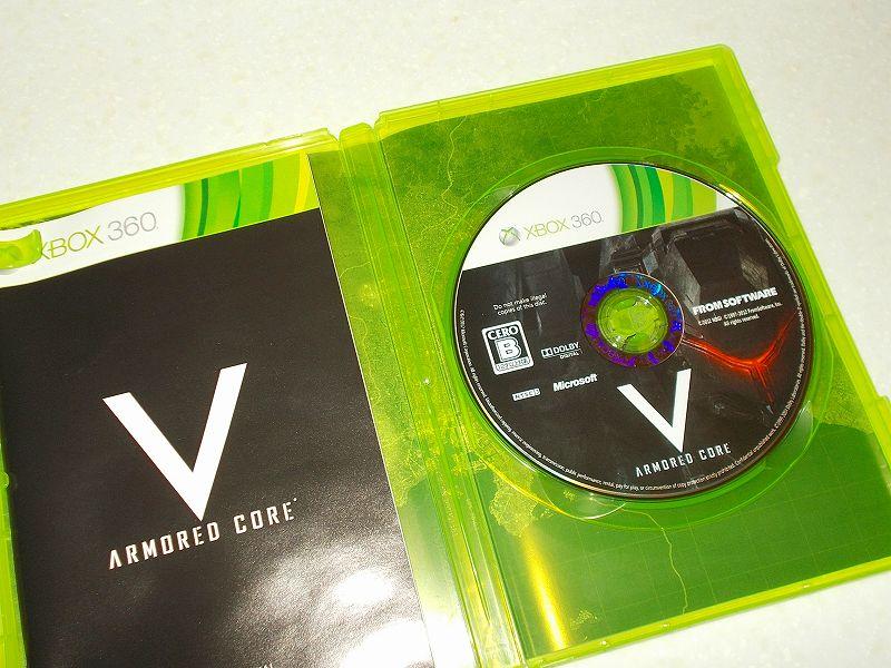 東芝サムスン製 DVD ドライブ TS-H352D の SH-D162D 化メモ、DVD ドライブ SH-D162D と Xbox Backup Creator で Xbox 360(XGD2)ディスクダンプ結果、ARMORED CORE V(アーマード・コア ファイブ)(Xbox 360) ディスク