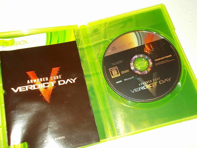 東芝サムスン製 DVD ドライブ TS-H352D の SH-D162D 化メモ、DVD ドライブ SH-D162D と Xbox Backup Creator で Xbox 360(XGD2)ディスクダンプ結果、アーマード・コア ヴァーディクトデイ(Xbox 360) ディスク