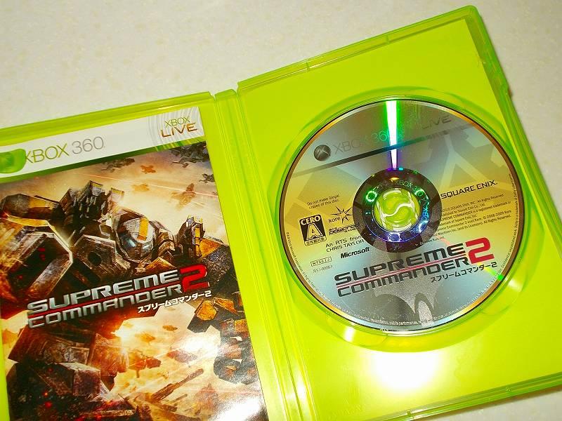東芝サムスン製 DVD ドライブ TS-H352D の SH-D162D 化メモ、DVD ドライブ SH-D162D と Xbox Backup Creator で Xbox 360(XGD2)ディスクダンプ結果、スプリームコマンダー 2(Xbox 360) ディスク