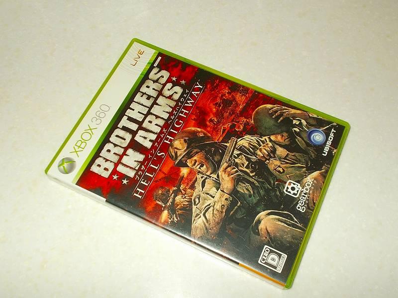 東芝サムスン製 DVD ドライブ TS-H352D の SH-D162D 化メモ、DVD ドライブ SH-D162D と Xbox Backup Creator で Xbox 360(XGD2)ディスクダンプ結果、ブラザー イン アームズ ヘルズハイウェイ(Xbox 360) パッケージ