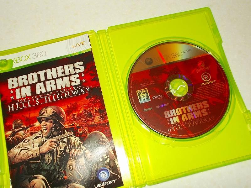 東芝サムスン製 DVD ドライブ TS-H352D の SH-D162D 化メモ、DVD ドライブ SH-D162D と Xbox Backup Creator で Xbox 360(XGD2)ディスクダンプ結果、ブラザー イン アームズ ヘルズハイウェイ(Xbox 360) ディスク