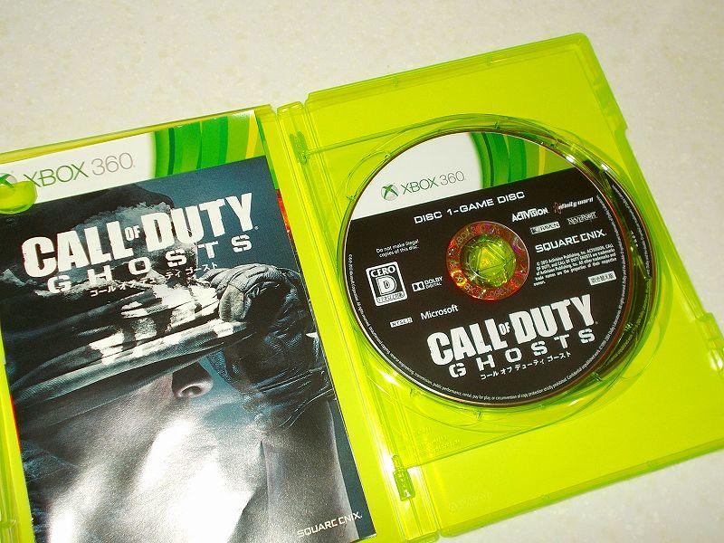 東芝サムスン製 DVD ドライブ TS-H352D の SH-D162D 化メモ、DVD ドライブ SH-D162D と Xbox Backup Creator で Xbox 360(XGD3)ディスクダンプ結果、コール オブ デューティ ゴースト 吹き替え版(Xbox 360) ディスク 1