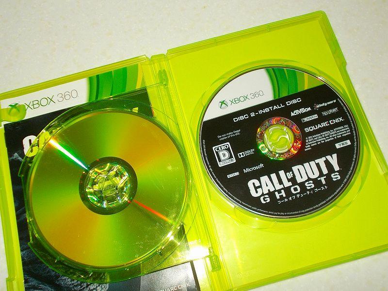 東芝サムスン製 DVD ドライブ TS-H352D の SH-D162D 化メモ、DVD ドライブ SH-D162D と Xbox Backup Creator で Xbox 360(XGD3)ディスクダンプ結果、コール オブ デューティ ゴースト 字幕版(Xbox 360) ディスク 2