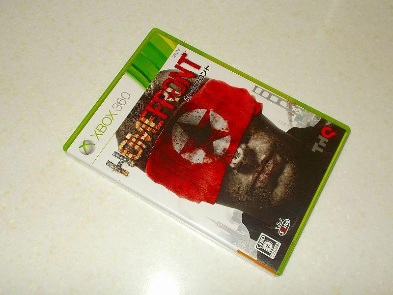 東芝サムスン製 DVD ドライブ TS-H352D の SH-D162D 化メモ、DVD ドライブ SH-D162D と Xbox Backup Creator で Xbox 360(XGD2)ディスクダンプ結果、ホームフロント(Xbox 360) パッケージ