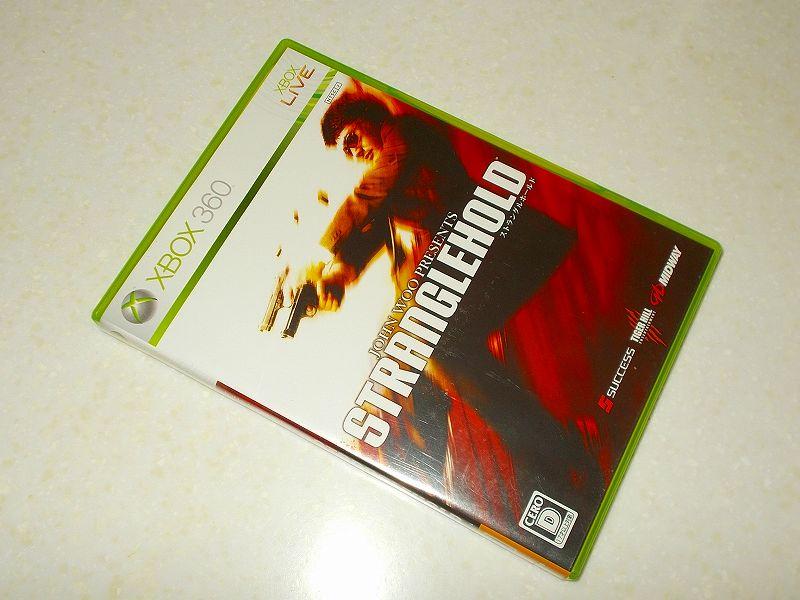 東芝サムスン製 DVD ドライブ TS-H352D の SH-D162D 化メモ、DVD ドライブ SH-D162D と Xbox Backup Creator で Xbox 360(XGD2)ディスクダンプ結果、ストラングルホールド(Xbox 360) パッケージ