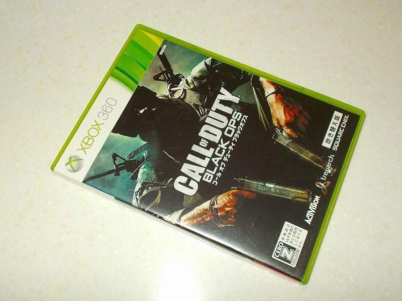 東芝サムスン製 DVD ドライブ TS-H352D の SH-D162D 化メモ、DVD ドライブ SH-D162D と Xbox Backup Creator で Xbox 360(XGD2)ディスクダンプ結果、コール オブ デューティ ブラックオプス 吹き替え版(Xbox 360) パッケージ