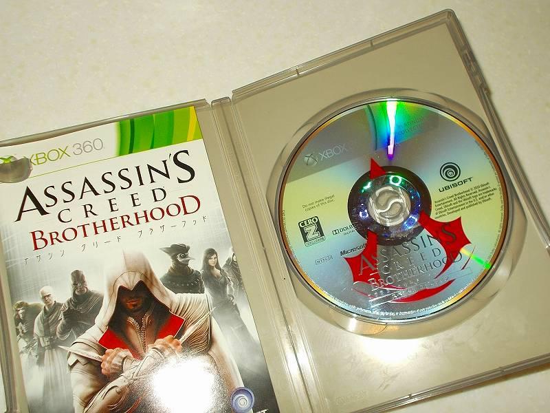 東芝サムスン製 DVD ドライブ TS-H352D の SH-D162D 化メモ、DVD ドライブ SH-D162D と Xbox Backup Creator で Xbox 360(XGD2)ディスクダンプ結果、アサシン クリード ブラザーフッド スペシャルエディション プラチナコレクション(Xbox 360) ディスク