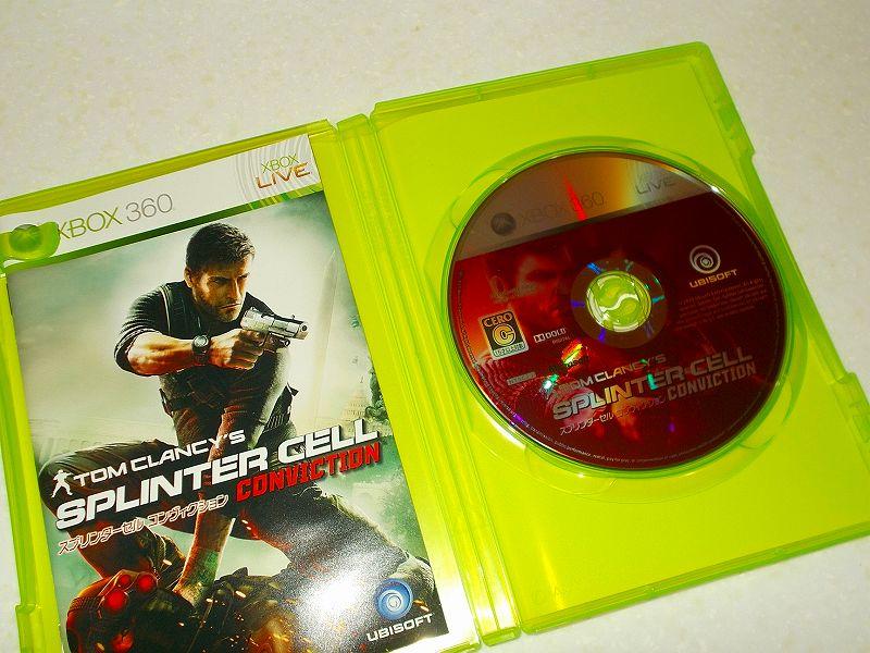 東芝サムスン製 DVD ドライブ TS-H352D の SH-D162D 化メモ、DVD ドライブ SH-D162D と Xbox Backup Creator で Xbox 360(XGD2)ディスクダンプ結果、スプリンターセル コンヴィクション(Xbox 360) ディスク
