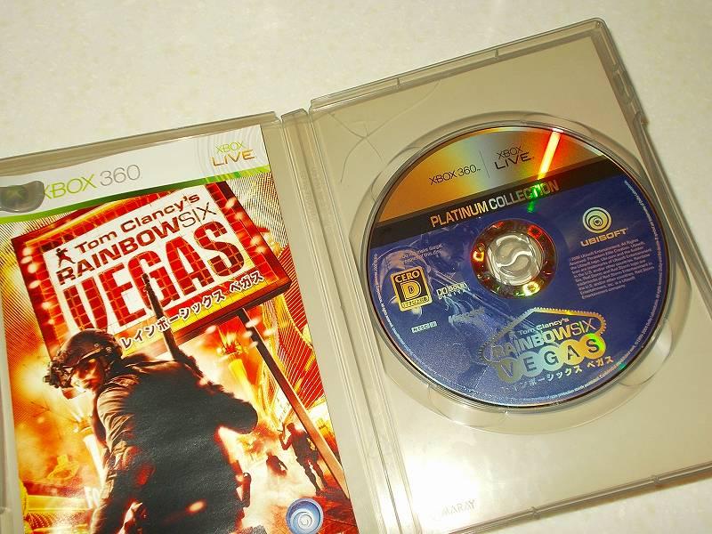東芝サムスン製 DVD ドライブ TS-H352D の SH-D162D 化メモ、DVD ドライブ SH-D162D と Xbox Backup Creator で Xbox 360(XGD2)ディスクダンプ結果、レインボーシックス ベガス プラチナコレクション(Xbox 360) ディスク