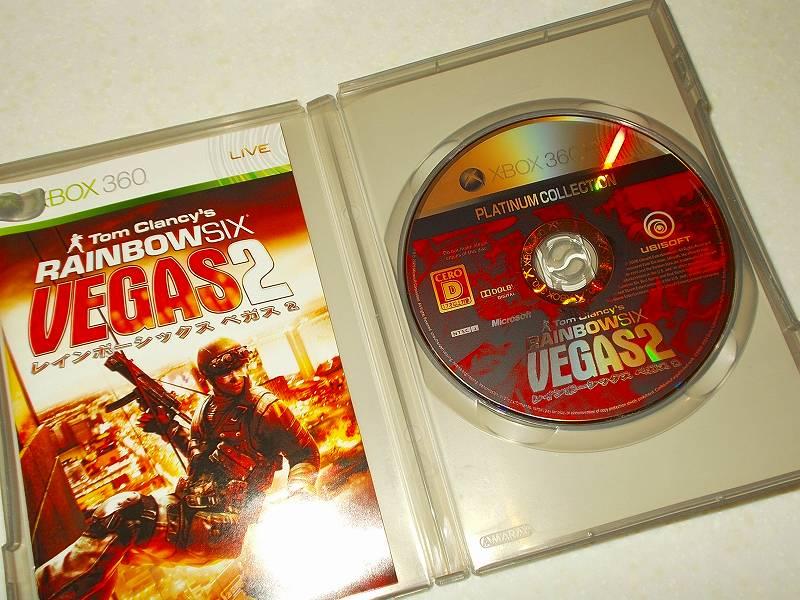東芝サムスン製 DVD ドライブ TS-H352D の SH-D162D 化メモ、DVD ドライブ SH-D162D と Xbox Backup Creator で Xbox 360(XGD2)ディスクダンプ結果、レインボーシックス ベガス 2 プラチナコレクション(Xbox 360) ディスク