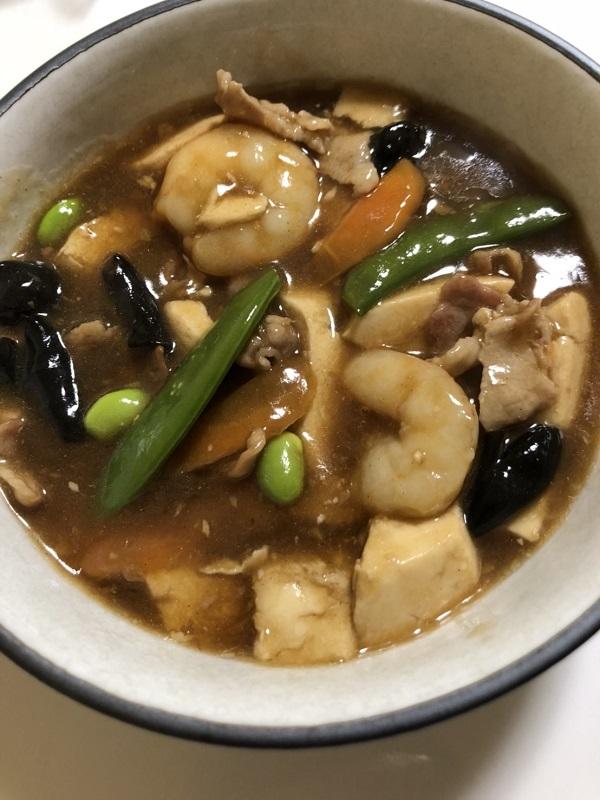 浅草橋 バカル 居酒屋 食堂 晩酌 豆腐醤油煮込み
