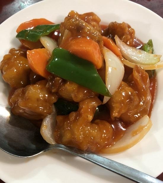 バカルおすすめ 浅草橋 中華 東僑飯店 酢豚