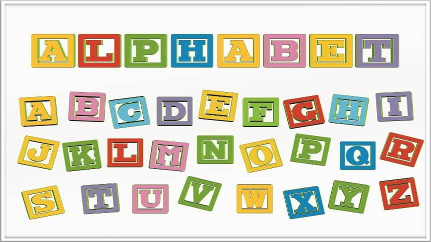 Alphabet-letters