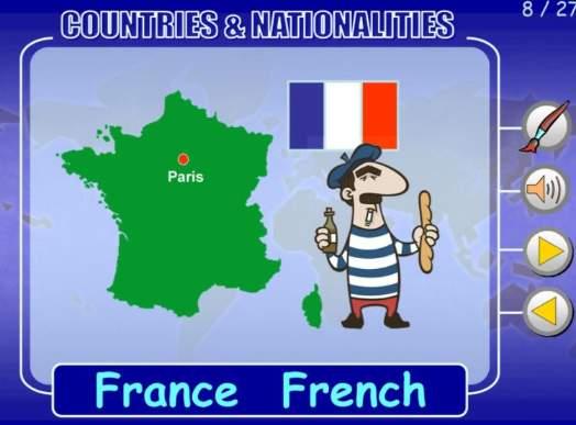 国の名前国籍英単語教材Country-Nationality-ppt-1