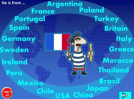 国の名前国籍英語教材Country-Nationality-ppt2