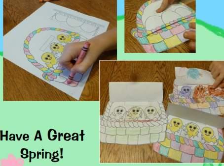 子供向けイースタークラフト工作Easter-craft1