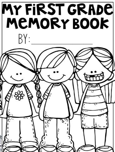 無料英語年度末振り返りカードテンプレートEnd-of-the-Year-Memory-Book