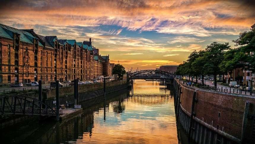Evening-riverside