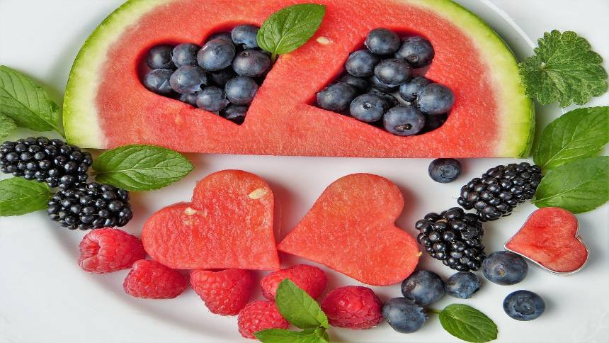 Fruit-on-a-plate