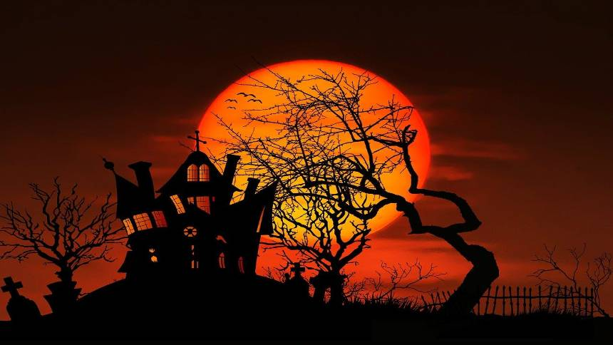 Halloween-haunted-house