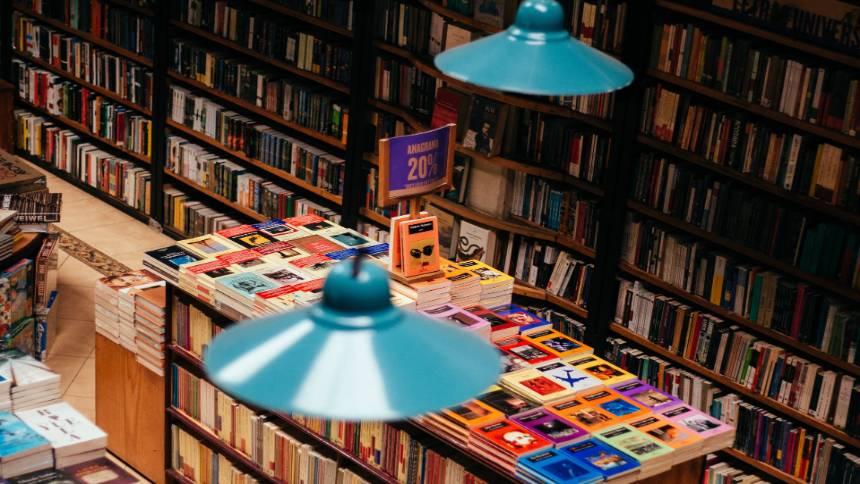 In-a-bookshop